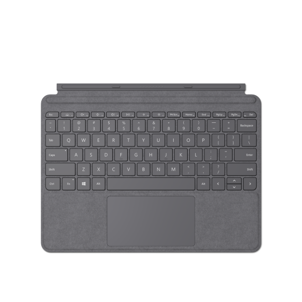 Surface Go Signature Type Cover – Platina (Nordisk)