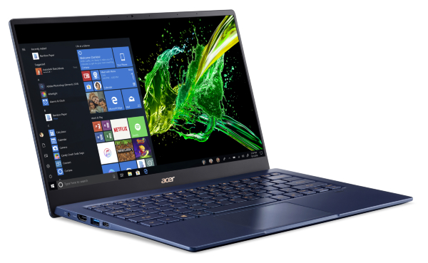 Acer Swift 5 / 14 / FHD / IPS / Touch / i7-1065G7 / 16GB / 1TB / Geforce MX350 / Win 10