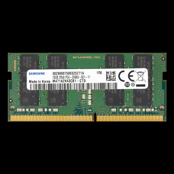Samsung 16GB SO-DIMM / 2666Mhz / DDR4 (M471A2K43CB1-CTD)