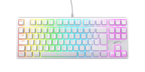 Xtrfy K4 RGB – Vit
