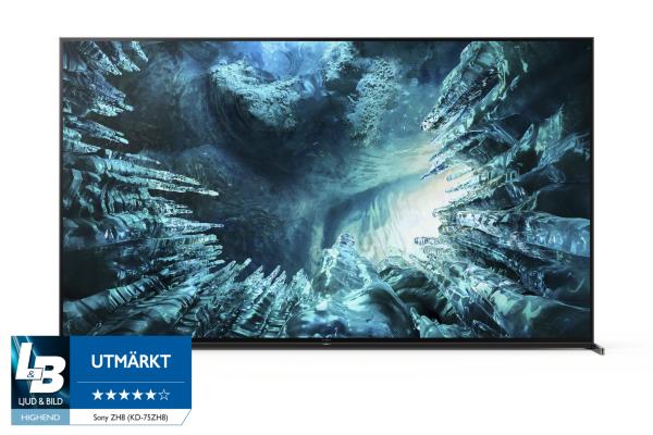 Sony 2020 75 KD75ZH8 – LED / 8K UHD / HDR / Smart-TV