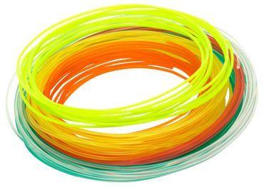XYZPrinting 3D-Penna filament 1.75mm PLA / 6 blandade färger / 12m / färg