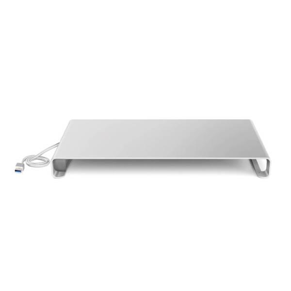 DESIRE2 Aluminium Monitor Stand with USB hub