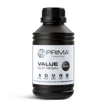 PrimaCreator Value UV / DLP Resin - 500 ml - Svart