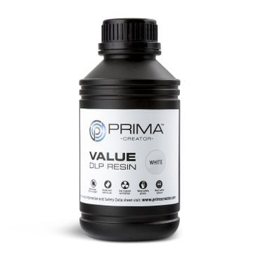 PrimaCreator Value UV / DLP Resin - 500 ml - Vit