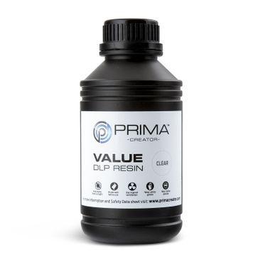 PrimaCreator Value UV / DLP Resin - 500 ml - Klar