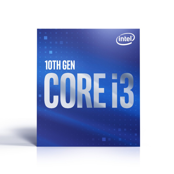 Intel Core i3-10100 – 4 kärnor / 8 trådar / 36 GHz / 43 GHz Turbo / 6MB / Socket 1200
