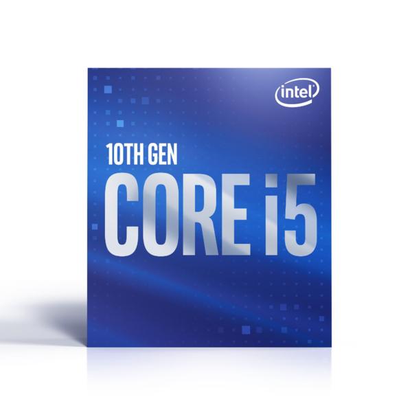 Intel Core i5-10400 - 6 kärnor / 12 trådar / 2,9 GHz / 4,3 GHz Turbo / 12MB / Socket 1200