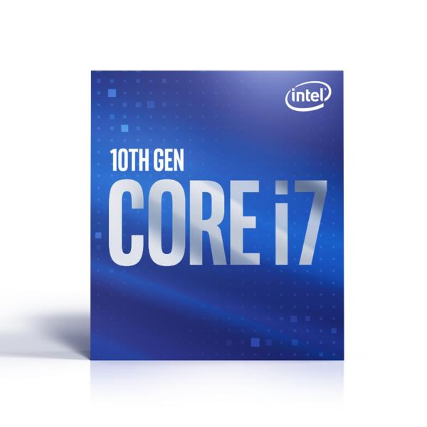 Intel Core i7-10700 - 8 kärnor / 16 trådar / 2,9 GHz / 4,8 GHz Turbo / 16MB / Socket 1200