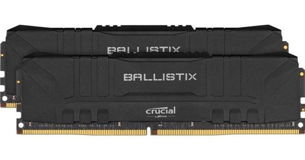Crucial Ballistix 16GB (2x8GB) / 3200MHz / DDR4 / CL16 / Svart