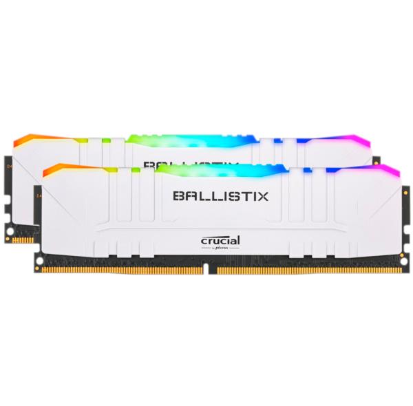 Crucial Ballistix 16GB (2x8GB) / 3200MHz / DDR4 / CL15 / RGB / Vit