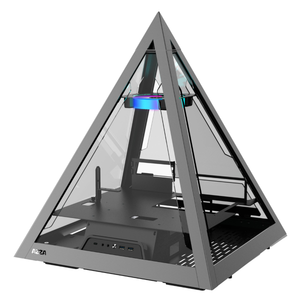 Azza Pyramid 804 / A-RGB / Tempered Glass