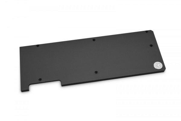 EK-Vector RTX RE 2080 / 2080 Ti Founders Edition Backplate – Svart (Fyndvara – Klass 1)