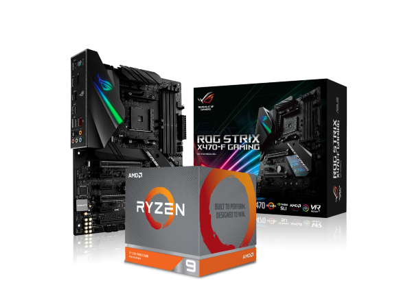 ASUS ROG STRIX X470-F Gaming + AMD 9 3950X