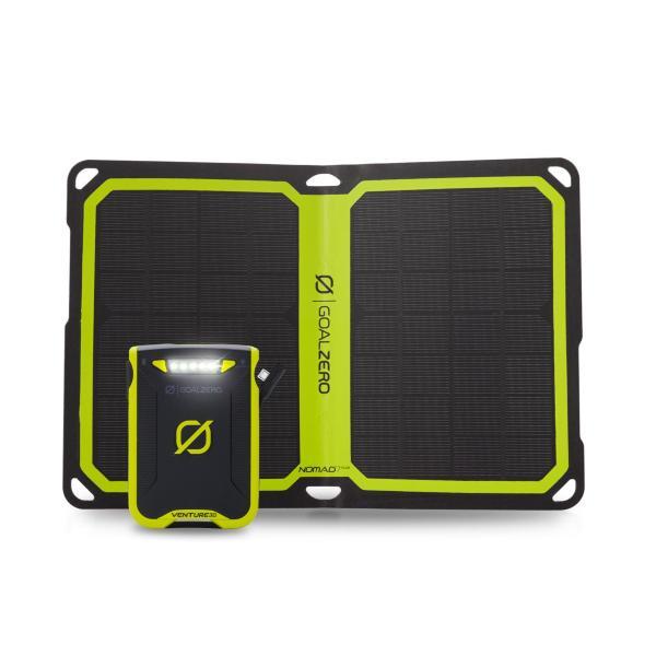 Goal Zero Venture 30 Solar Kit + Nomad 10