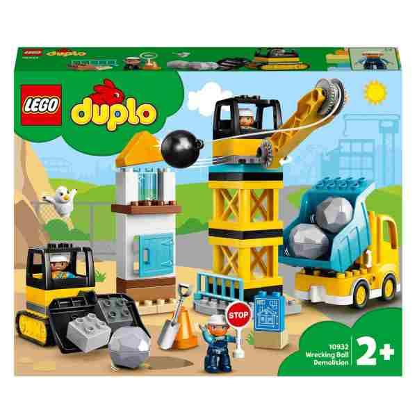LEGO DUPLO Town Rivning med rivningskula 10932