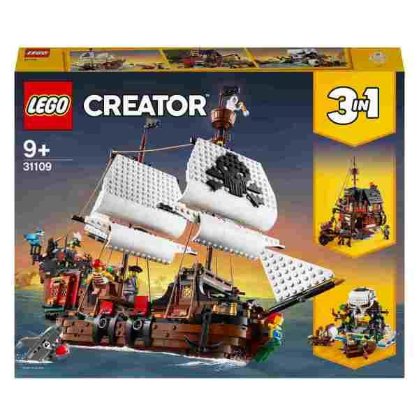 LEGO Creator Piratskepp 31109