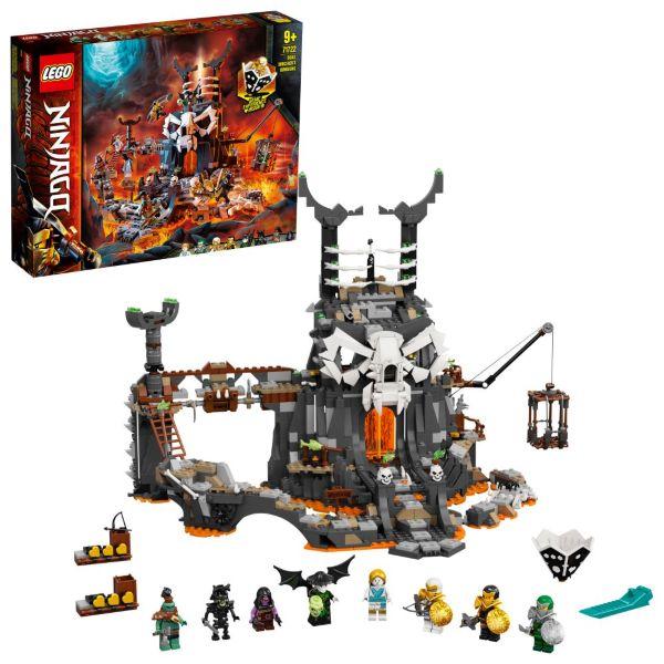 LEGO Ninjago Dödskallemagikerns grottor 71722