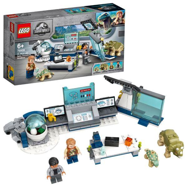 LEGO Jurassic World Doktor Wus labb: Dinosaurieungarna rymmer 75939