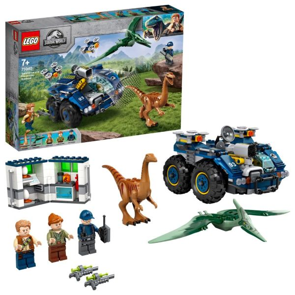 LEGO Jurassic World Gallimimus och Pteranodon rymmer 75940