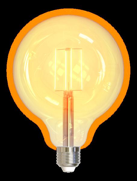 Deltaco Smart Home LED-filamentlampa E27 / WiFi / 2.4GHz / 5.5W / 470lm / dimbar
