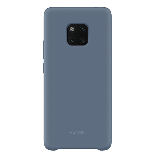Huawei Mate 20 Pro Silicone Cover – Ljusblått (Fyndvara – Klass 3)