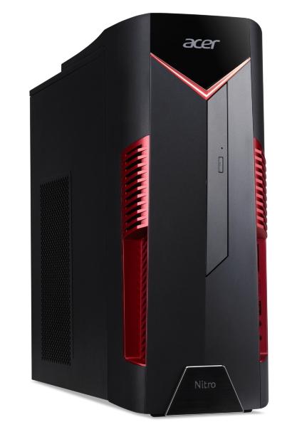 Acer Nitro 50-600 / i5-9400F / 8GB / 512GB / GTX 1650 / Win 10 (Fyndvara - Klass 1)