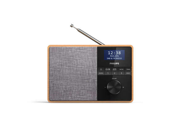 Philips bärbar radio - Dual Alarm, DAB+, FM tuner, Sleep timer