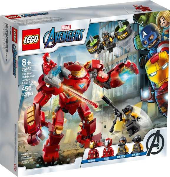 LEGO Super Heroes Iron Man Hulkbuster mot A.I.M.-agent 76164