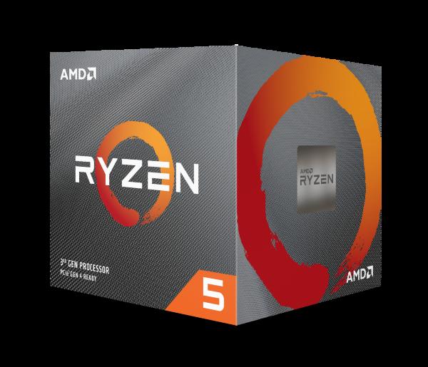 AMD Ryzen 5 3600XT / 6 cores / 12 threads / 4,5 GHz