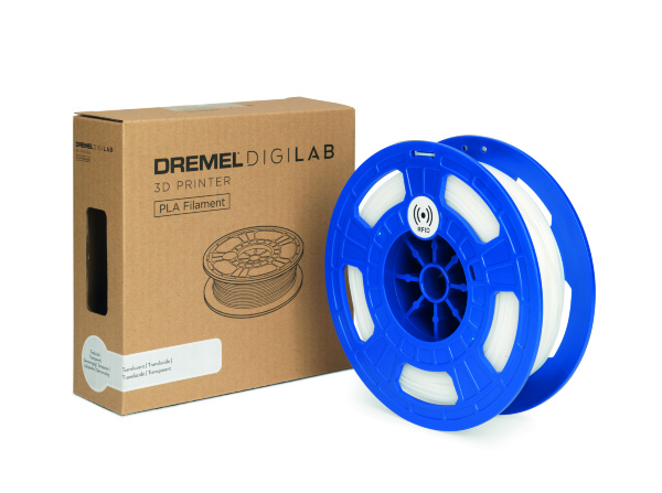 Dremel - PLA - 1.75mm - 750g - Genomskinlig
