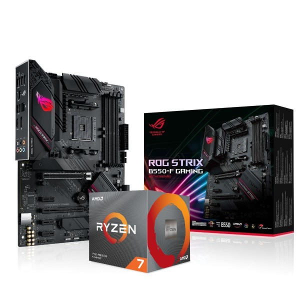 ASUS ROG STRIX B550-F Gaming + AMD Ryzen 7 3700X