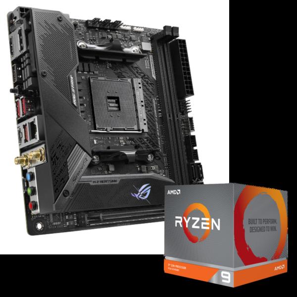 ASUS ROG STRIX B550-I + AMD Ryzen 9 3900X