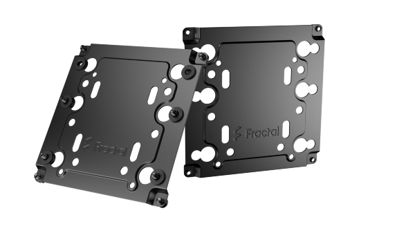 Fractal Design Universal Multibracket Type A / 2-pack - Svart