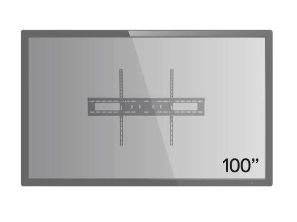 iiglo TV Väggfäste TVW1202 (60-100) upp till 75kg VESA till 900×600