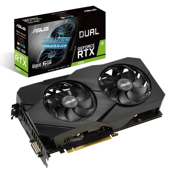 ASUS GeForce RTX 2060 6GB DUAL EVO Advanced Gaming
