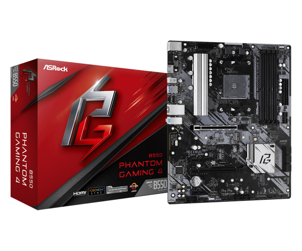 Asrock B550 Phantom Gaming 4