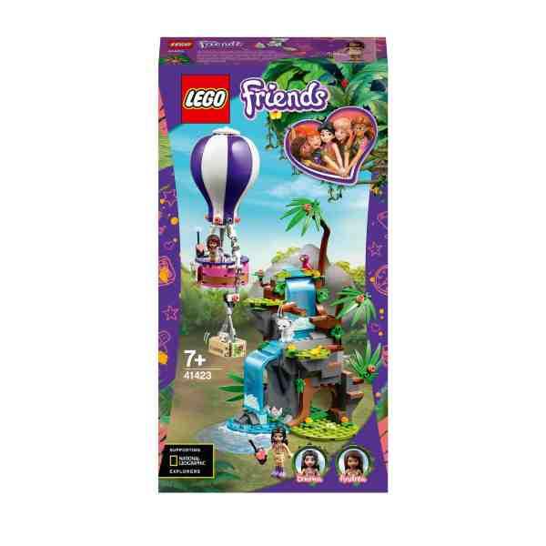 LEGO Friends Djungelräddning med tiger och luftballong 41423
