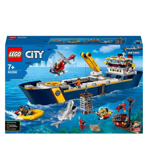 LEGO City Oceans Hav – utforskarskepp 60266