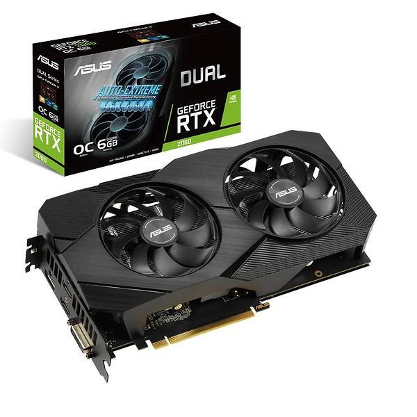 ASUS GeForce RTX 2060 6GB DUAL EVO OC