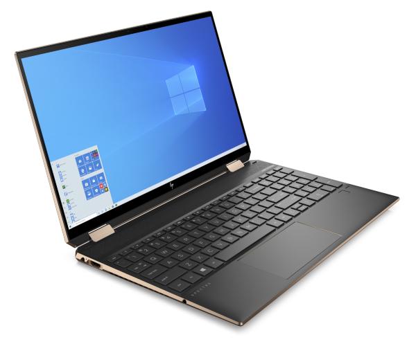 HP Spectre x360 15-eb0002no / 15.6 / 4K / Touch / i7-10750H / 16GB / 1TB / GTX 1650Ti Max-Q / Win 1