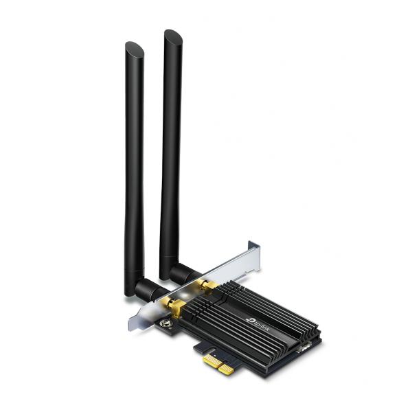 TP-Link Archer TX50E – AX3000 / PCIe Adapter / Bluetooth 5.0 / Wi-Fi 6 (Fyndvara – Klass 1)