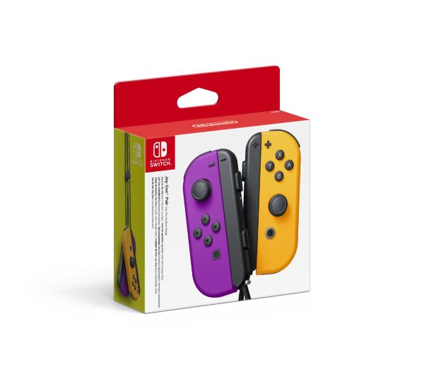 Nintendo Switch Joy-Con Handkontroll Pair Purple / Orange