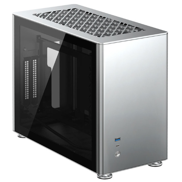 Jonsbo A4 / Tempered Glass - Silver