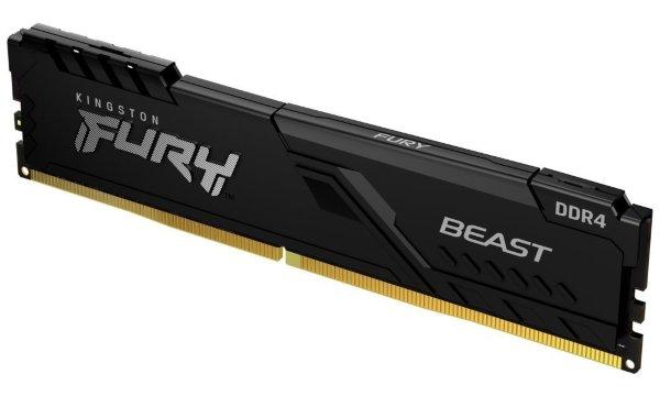HyperX Fury Black 16GB (1x16GB) / 3600MHz / DDR4 / XMP / CL18