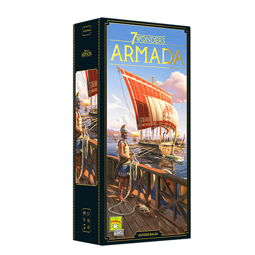 7 Wonders Armada Expansion V2 (Eng)