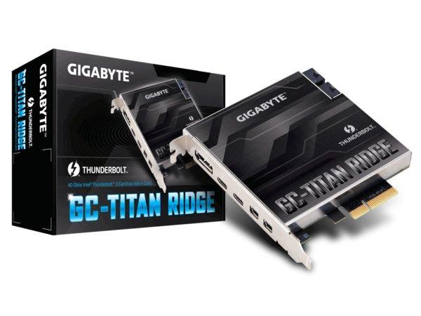 Gigabyte Titan Ridge Thunderbolt 3 v2