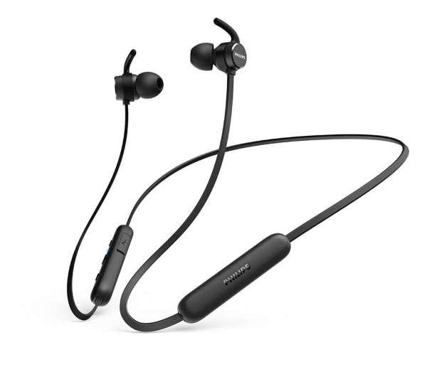 Philips 2020 TAE1205BK/00 Trådlösa in-ear-hörlurar med mikrofon - Svart