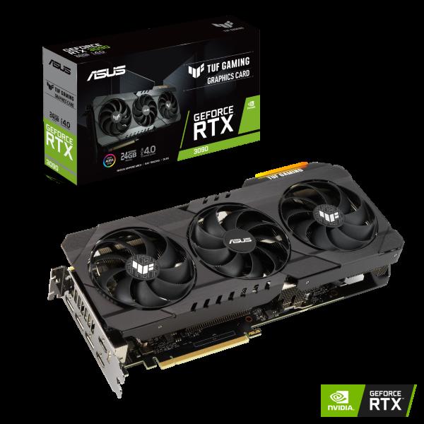 ASUS TUF GeForce RTX 3090 24GB Gaming OC
