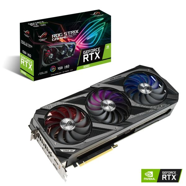 ASUS ROG STRIX GeForce RTX 3080 10GB Gaming